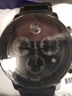 Men's Movado Black Bracelet Brand New Never Used for Sale in Albuquerque,  NM
