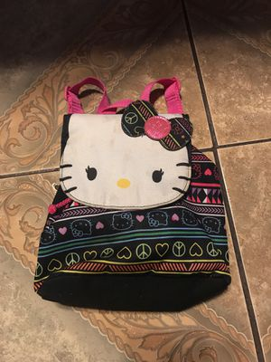 Hello kitty mini backpack for Sale in Tulare, CA