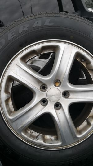 Federal tires with Subaru rims for Sale in NO POTOMAC, MD