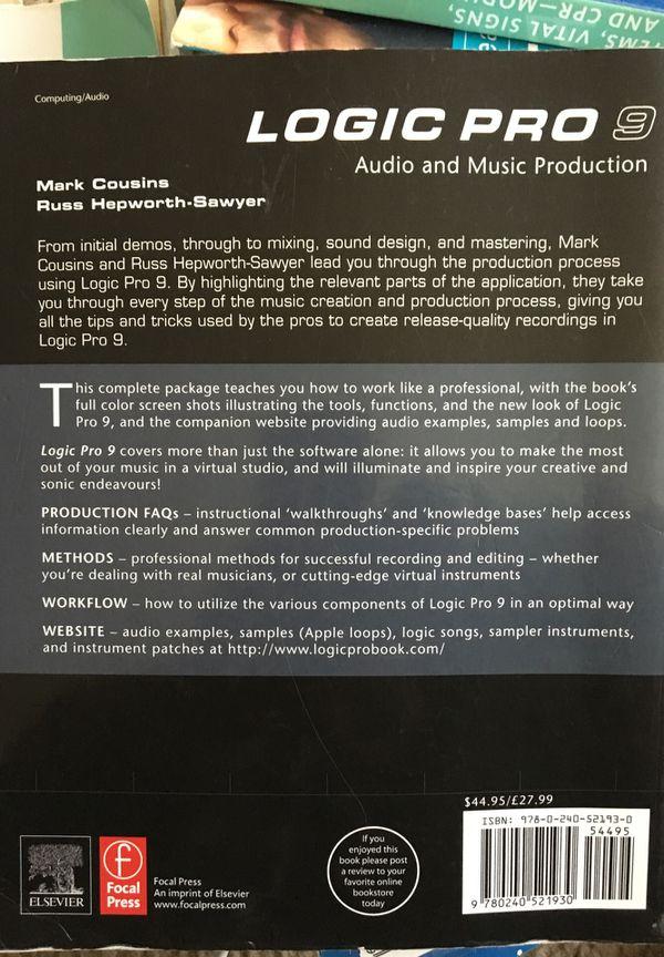 Logic Pro 9 Audio and Music Production