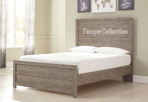 NEW IN THE BOX.STYLISH GREY QUEEN BED FRAME. SKU#TCB070GY-QUEEN for Sale in Fountain Valley, CA