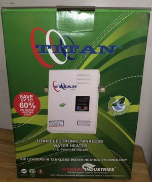 BRAND NEW TITAN WATER HEATER N-120 for Sale in Miami, FL