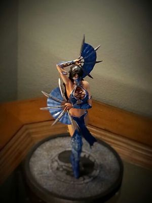 """KITANA ENCHANTED WARRIORS SERIES 10"""" LIMITED EDITION STATUE for Sale in Leander, TX"""