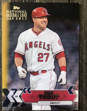 One Mike Trout Baseball Card from 2017! for Sale in Costa Mesa, CA