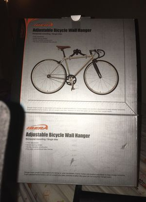 Adjustable bicycle wall hanger for Sale in Tempe, AZ