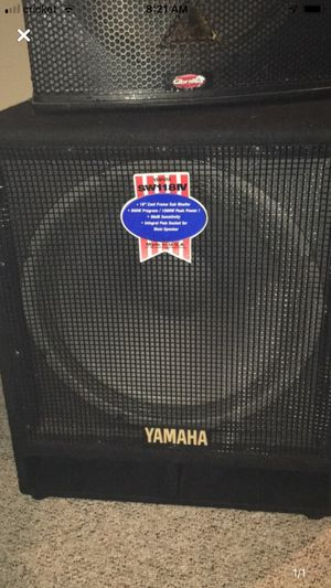 Yamaha SW118 passive subwoofer for Sale in Lorton, VA