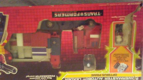 Valuable Optimus prime HASBRO collectable transformer