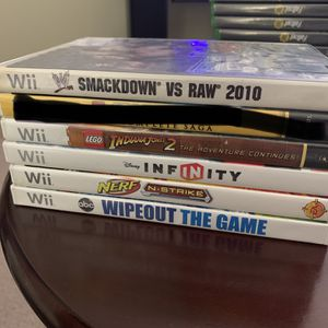 Nintendo wii games for Sale in West Columbia, SC