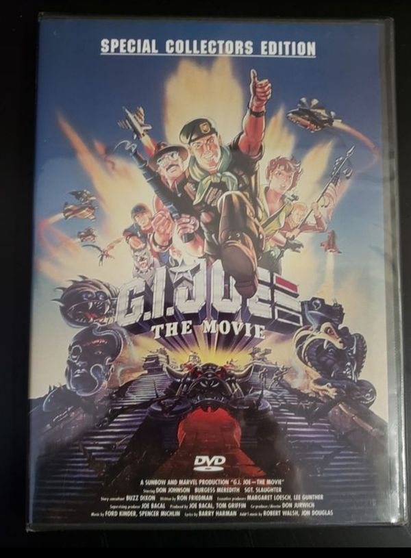 GI JOE A REAL AMERICAN HERO THE MOVIE New Sealed DVD Special Edition