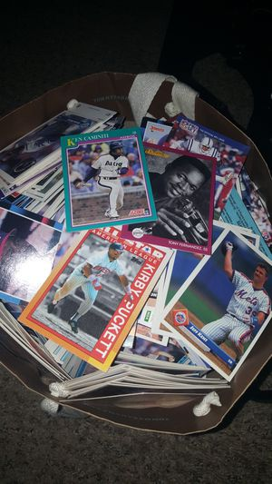 Big bag of sports cards mostly baseball for Sale in Tacoma, WA