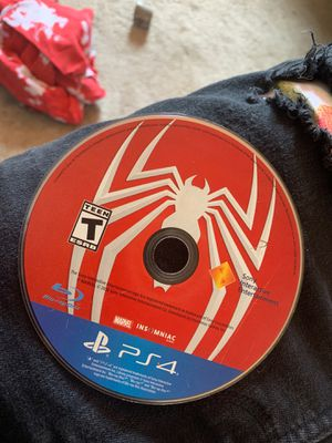 Spider-Man ps4 for Sale in Lemon Grove, CA