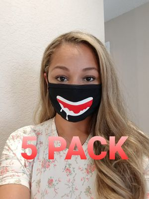 Reusable washable double cloth face mask cover for Sale in Hillsboro Beach, FL