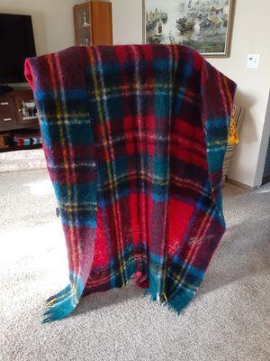 "Vintage mohair blanket throw 58""×72"" for Sale in Bellevue, WA"