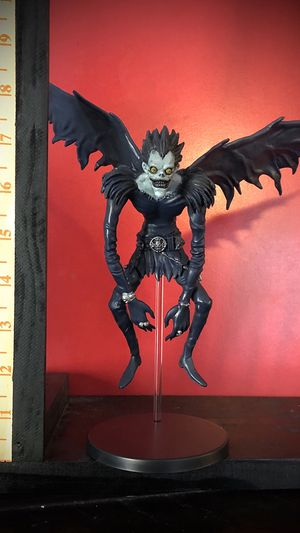 Death note anime cartoon series statue collectible toys figure for Sale in Irving, TX