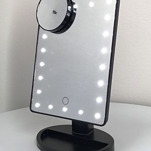 "(NEW) $15 each 11x6.5"" LED Vanity Makeup Mirorr Touch Screen Dimming w/ 10x Magnifying for Sale in El Monte, CA"