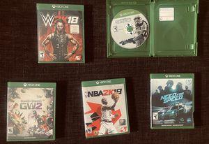 Xbox one game lot / individual for Sale in Pico Rivera, CA