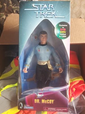 Star Trek dr mccoy action figure for Sale in Tacoma, WA