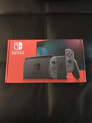 Nintendo switch v2 grey newest version NEW for Sale in Santa Ana, CA