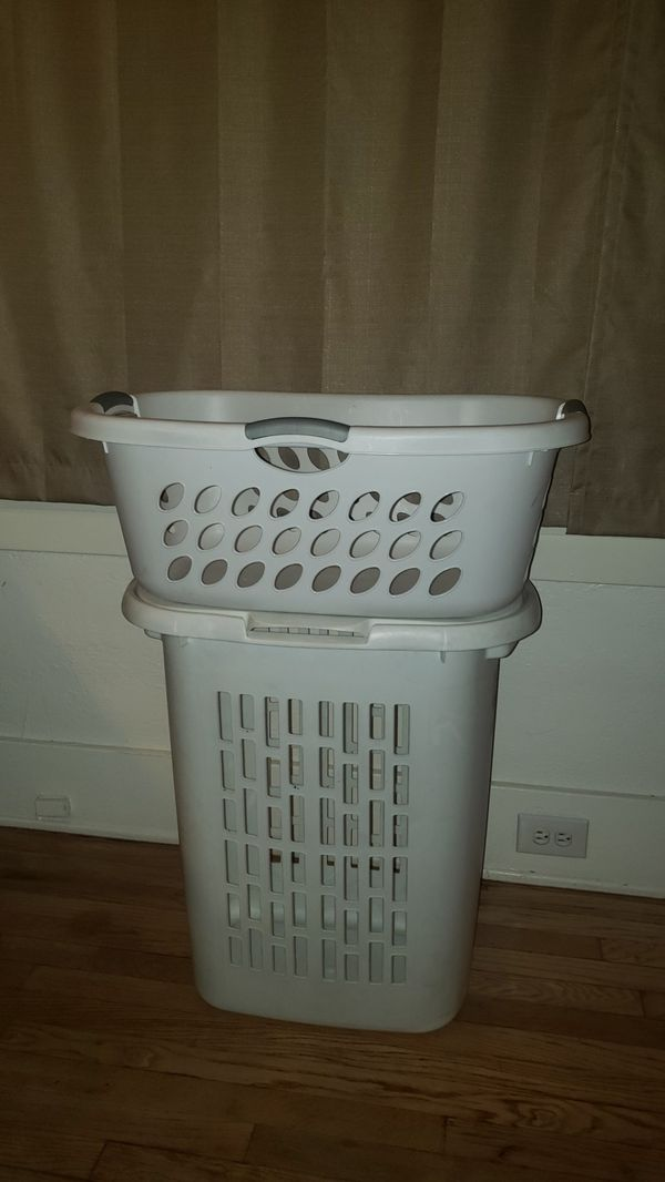 Laundry Baskets (2 For $5)