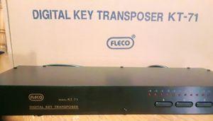 Fleco model kt-71 digital key transpose, rack mount for Sale in Sacramento, CA
