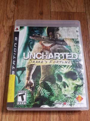 Uncharted, ps3 for Sale in San Francisco, CA