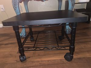 Printer stand with wheels for Sale in Fort Worth, TX