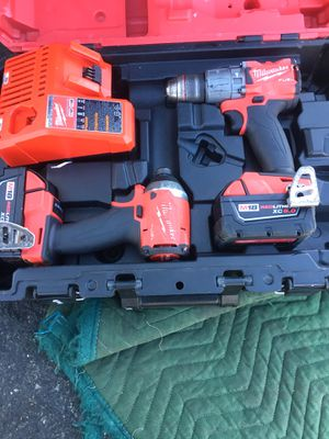 Milwaukee drill set for Sale in San Jose, CA