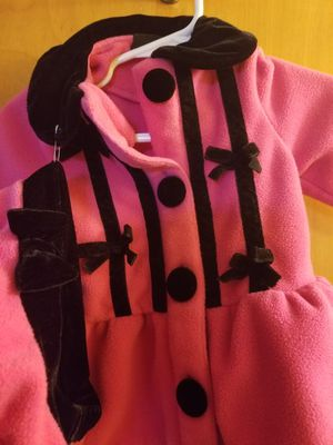 Cute 3M Pink Coat w/Hat for Sale in Blue Island, IL