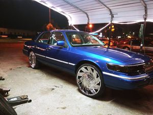 "(4) New 24"" Chrome Rims & New Tires for Sale in Apopka, FL"
