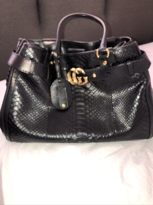 Gucci Python Large GG running tote bag black for Sale in Avondale, AZ