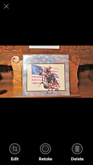 2008 MORT KUNSTLER AMERICAN SPIRIT ART CALENDAR LANG for Sale in Lynchburg, VA
