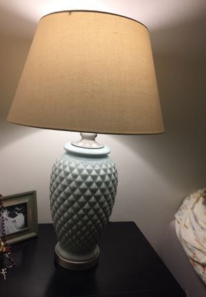 Gorgeous green lamp for sale! Barely used! for Sale in Fort Lauderdale, FL