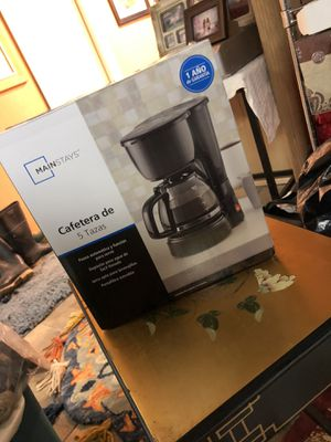 Mainstays coffee maker brand new for Sale in Dedham, MA