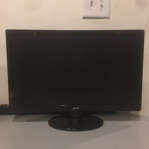 21.5 inch Acer LED Monitor 1080p for Sale in Fresno, CA