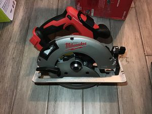 "Milwaukee m18 7-1/4"" Saw for Sale in Kennesaw, GA"