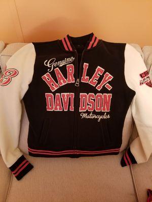 Genuine Harley Davidson fleece-like Jacket for Sale in Martinsburg, WV