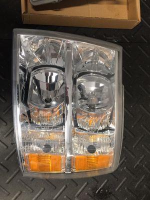 Chevy Silverado chrome headlights for Sale in Dinuba, CA