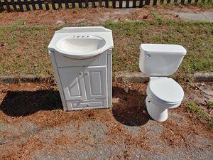 Sink vanity toilet for Sale in Portsmouth, VA