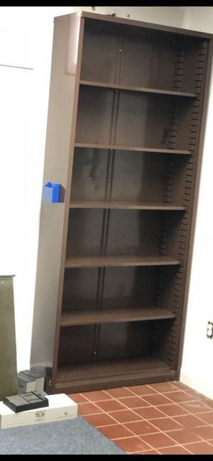 """84""""x36"""" metal shelving cabinet with adjustable shelves for Sale in Springfield, PA"""