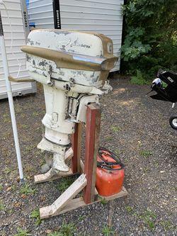 35hp Johnson Super Seahorse Outboard boat motor for Sale in Estacada,  OR