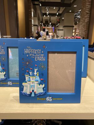2020 Disney Disneyland 65th Anniversary Happiest Place on Earth Picture Frame for Sale in Anaheim, CA
