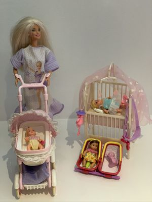 Barbie Doll with Babies Set for Sale in NEW PRT RCHY, FL
