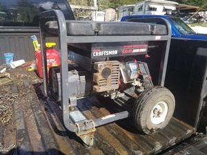Craftsman 6.5 horse 3250 watt generator for Sale in Dorena, OR