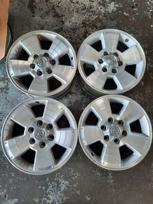 17 inch toyota 4 runner 6x139.7 wheels oem for Sale in Tacoma, WA