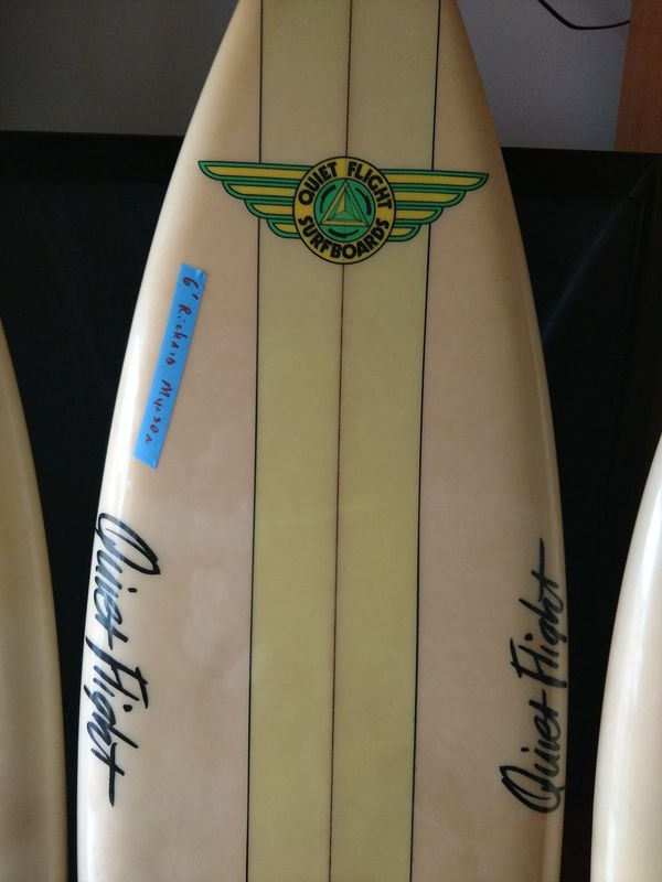 Surfboards. 1980s twin find. Sold the fox
