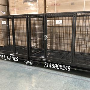 "Dog Pet Cage Kennel Size 37"" Medium Set Of 2 New In Box 📦 for Sale in Chino, CA"