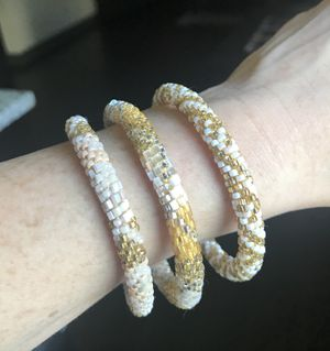 Lily and Laura Bracelets - Set of 3 for Sale in Houston, TX
