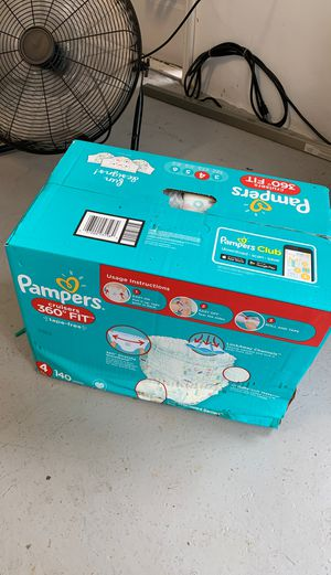New in box - pampers cruiser 360 diapers size 4 for Sale in Southwest Ranches, FL