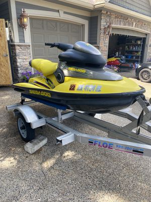 1998 sea doo limited XP with trailer for Sale in Burnsville, MN