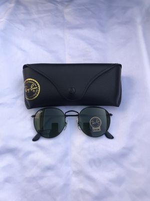 Ray ban round black sunglasses for Sale in Washington, DC